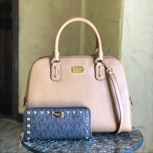 MK handbag set
